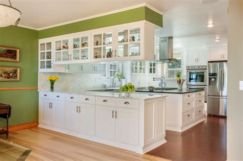 Green And Gray Bathroom Ideas - traditional kitchens traditional kitchen other by kathryn w brown akbd canyon creek