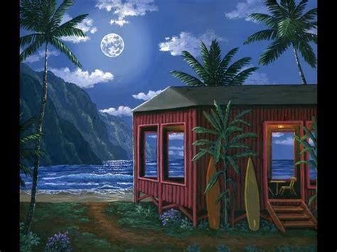 haus malen wie ein haus am strand in der nacht zu malen mit acryl