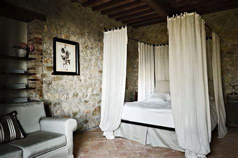 Rock Wall In Bedroom by Italian Villa Bedroom Design Wall With