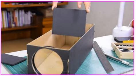 Proyektor Kardus inilah cara mmbuat proyektor ponsel dari kardus bekas ciptakan bioskop mini buat anak portal