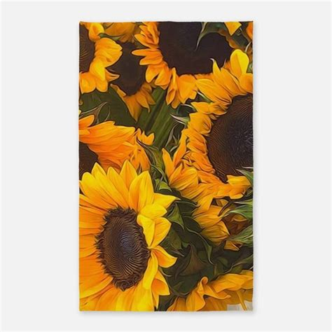 Sunflower Area Rug Sunflower Rugs Sunflower Area Rugs Indoor Outdoor Rugs