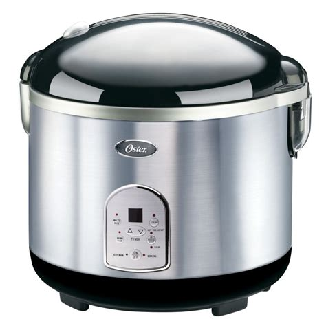 Rice Cooker Stainless Steel Sanken oster 20 cup stainless steel digital rice cooker the home depot canada