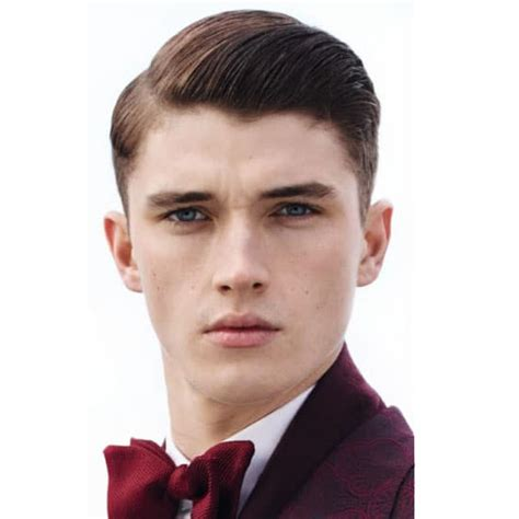 2015 center part side part how to create the modern men s side part hairstyle