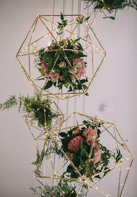 chic geometric wedding ideas   trends