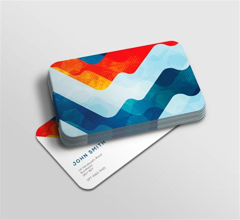 business card template rounded corner psd rounded corner business card choice image business card