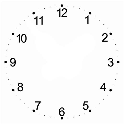 Jam Dinding Standard White clock 5 by stephenjohnsmith on deviantart