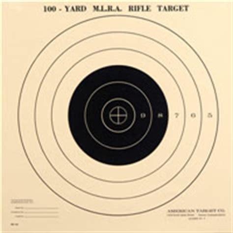 Printable Muzzleloader Targets | printable rifle targets 100 yards