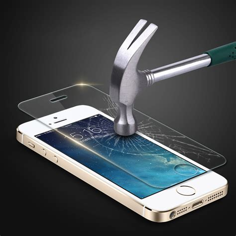 Tempered Glass Iphone 7 Plus 7 5 5 Inch Cover Screen Guard Warna tempered glass for iphone 7 6 6s plus 5 5s se 9h anti