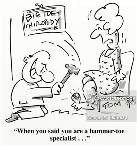 big toe cartoons and comics funny pictures from cartoonstock