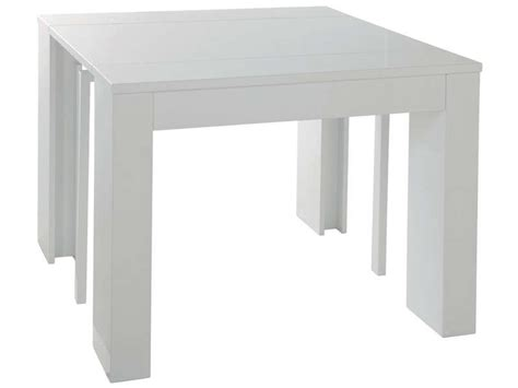 console extensible conforama console extensible l 270 cm max peninsule coloris blanc