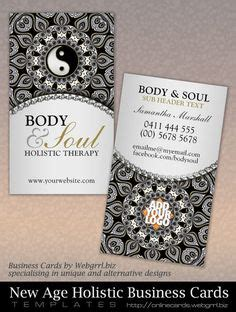 new age business cards 1000 images about yin yang new age business cards on
