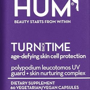 Chanel Anti Aging Products Turn Back Time by Anti Aging Supplement Hum Nutrition Turn Back Time