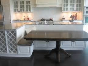 kitchen island with table seating best 25 island table ideas on
