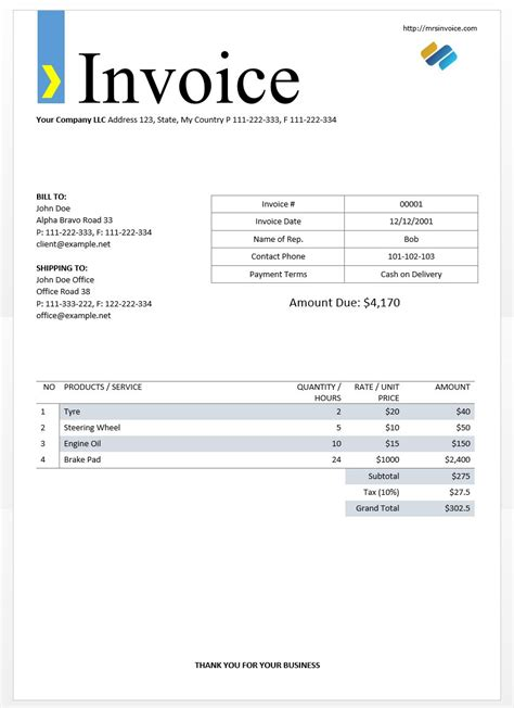 electronic invoice template free invoice forms blank flow chart template