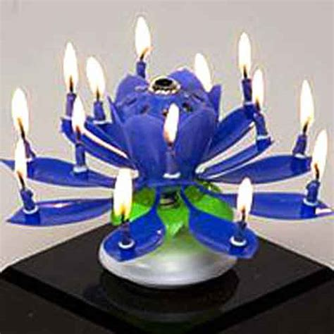 lotus flower birthday candle amazing musical lotus flower birthday candle ships from