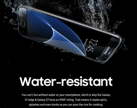 Harga Samsung S7 Water Resist what to do when galaxy s7 edge s water resistance can not
