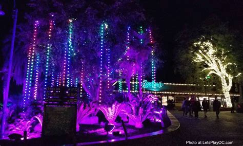zoo lights coupons los angeles zoo lights coupon let s play oc