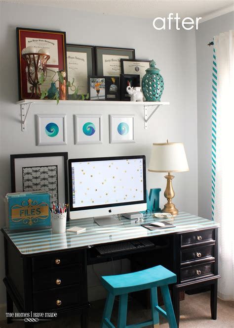 Office Desk Makeover Office Desk Makeover Reveal The Homes I Made