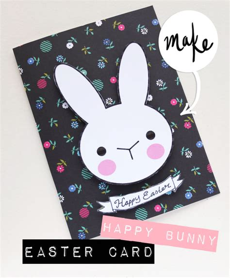 Decorate Project Happy Bunny Easter Card My Poppet Makes