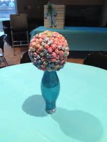 centerpieces for a boys baby shower quot ready to pop theme quot diy projects pinterest trees