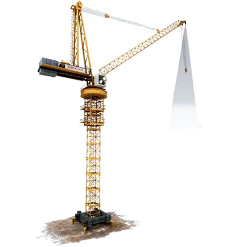 loadview luffing jib tower crane   rmt equip