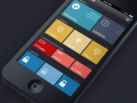 design home app new phone home automation app by jack s design dribbble