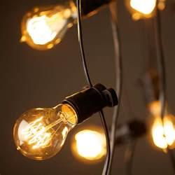 light bulbs on string disruptive innovation the lights