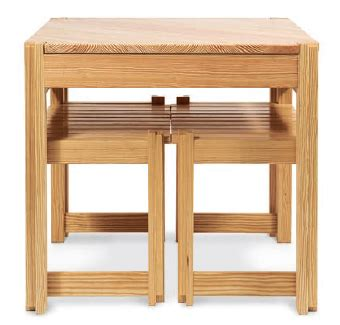 Kitchen Table For Small Spaces Pine Kitchen Table And Bench Project For Small Spaces Rockler How To