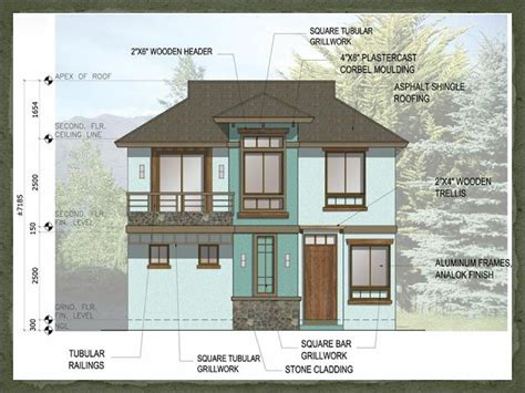 home design 7 x 10 a two storey 3 bedroom home fitting in a 120 square meter