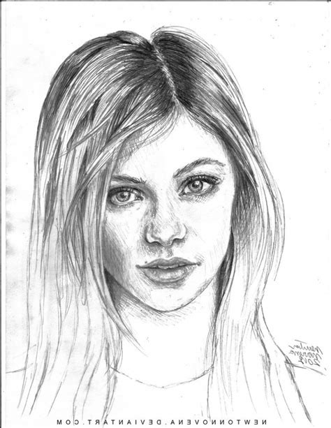 Sketches Realistic by Drawing Realistic Faces Grils Sketch Realistic Draw