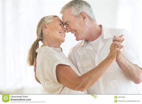 Retirement House Plans romantic couple dancing at home stock photo image 34512060