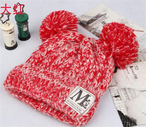 Topi Kupluk Pompom Musim Dingin Anak Winter Beanie Hat anak busana musim dingin untuk anak perempuan anak laki