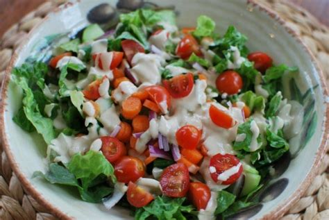 Detox Salad With Tahini Dressing Cabage Romaine by April 2013 Healthy Plate Happy Family