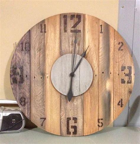 Best 20 Wooden Clock Ideas On Pinterest Wood Clocks | 65 best pallet clocks images on pinterest pallet clock