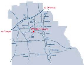 winterhaven florida map map of winter florida winter