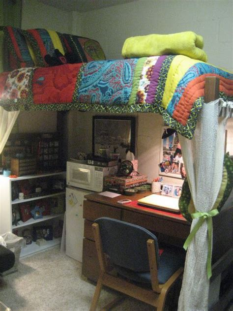 lofted bed dorm dorm room home pinterest loft good ideas and real life