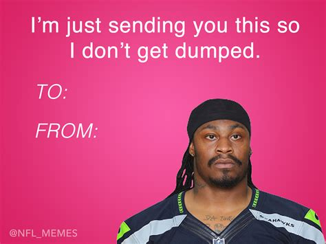 Valentines Day Cards Memes - this year s batch of nfl themed valentines day cards
