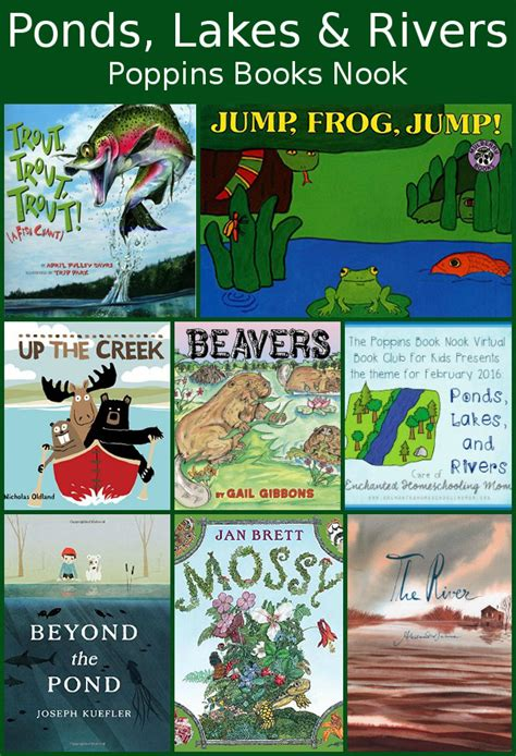 pond books poppins book nook ponds lakes rivers 3 dinosaurs