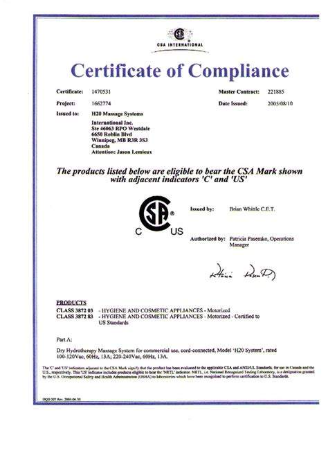 compliance certificate template generic certificate of compliance search engine at