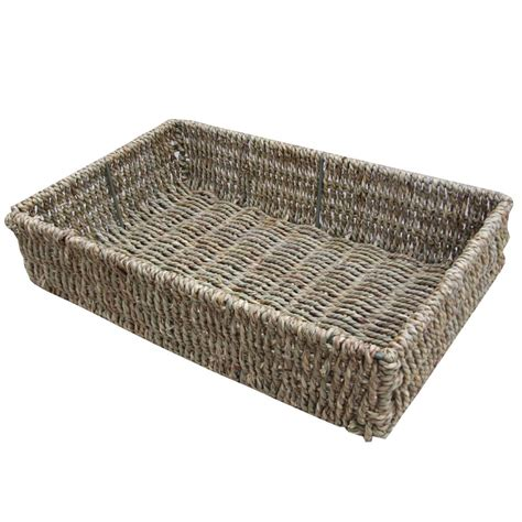 Large Decorative Tray Buy Seagrass Storage Baskets Trays Online From The