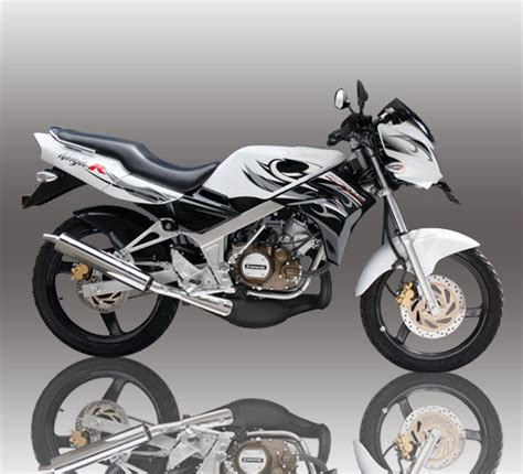 Striping Stiker Motor Kawasaki R 2013 rr 2013 putih modifikasi design bild