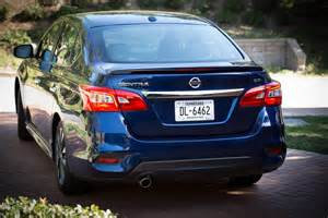 Nissan Sentra Review 2016 Nissan Sentra Drive Review Motor Trend