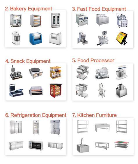 Kitchen Equipment List by Image Gallery Kitchen Equipment List