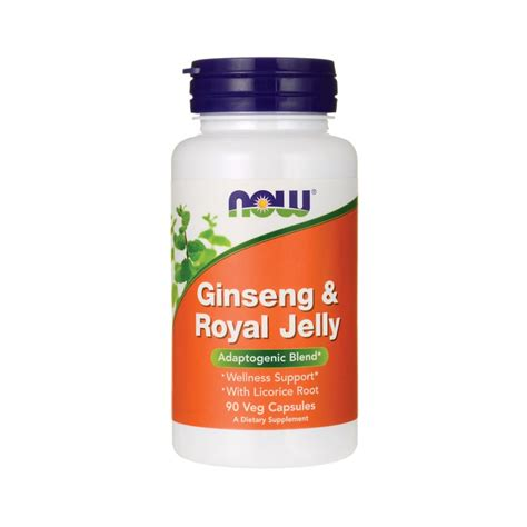 Royal Jeli Ginseng ginseng royal jelly 90 veg caps