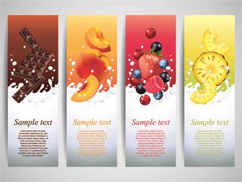 design banner juice vector advertising banner free vector download 10 788