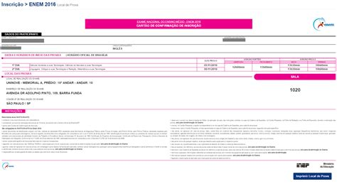 local de provas upenet 2016 pm inep divulga gabarito oficial do enem 2016 stoodi