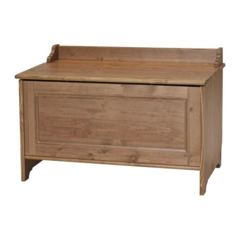 toy chest bench ikea ikea leksvik wooden treasure chest toy box storage new