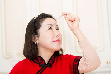 guinness world record longest pubes in pictures chinese lady has world s longest eyelashes