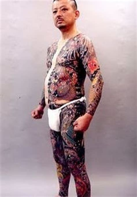 sejarah tattoo yakuza japanese yakuza tattoos gambar seni tattoo