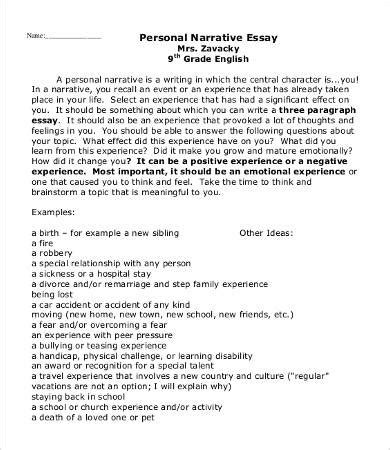 Personal Essay Template 9 Free Word Pdf Documents Download Free Premium Templates Free Essay Template